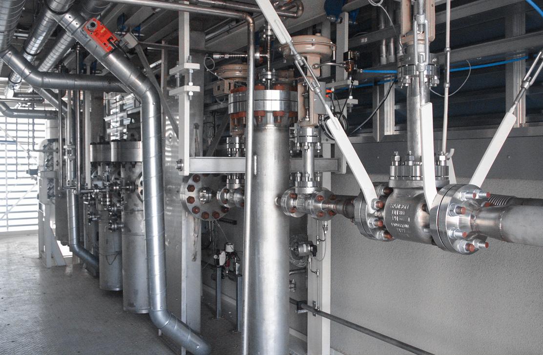 High pressure furnace unit